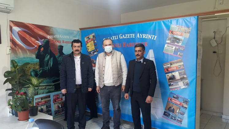 Şeyh Bızınliler Derneği Genel Başkanı Ersin Kaya'dan Gazetemize Ziyaret