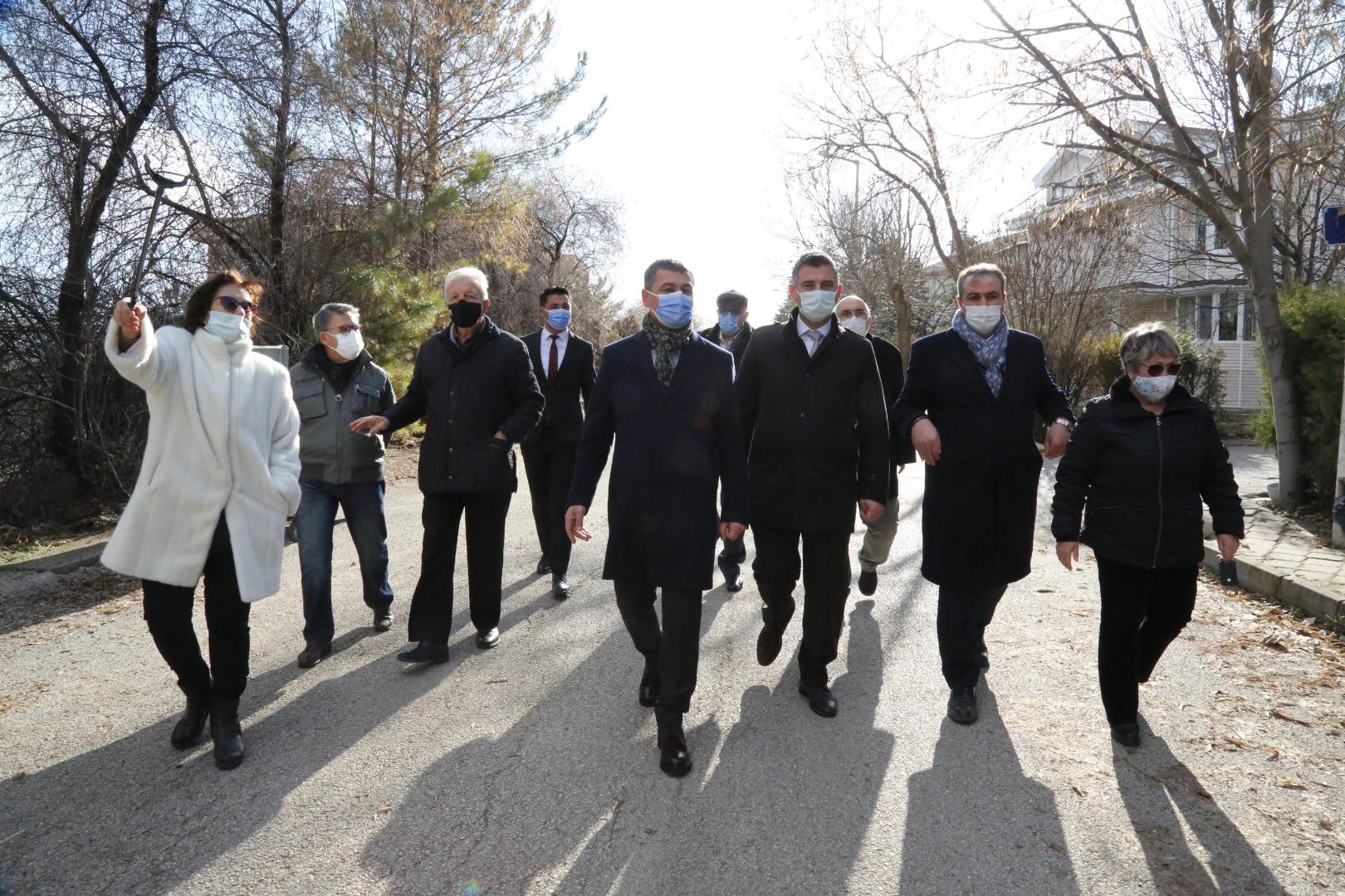Başkan Şimşek'ten TRT Haberciler Sitesi'ne saha müjdesi…