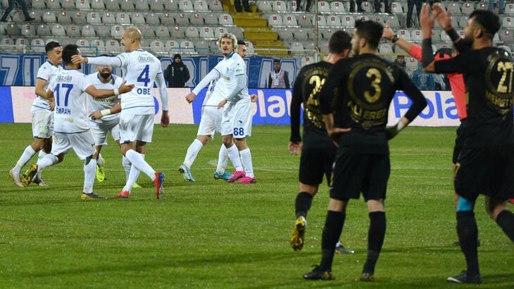 Osmanlıspor, TFF 1. Lig'de son 7 maçının 6'sını kaybetti
