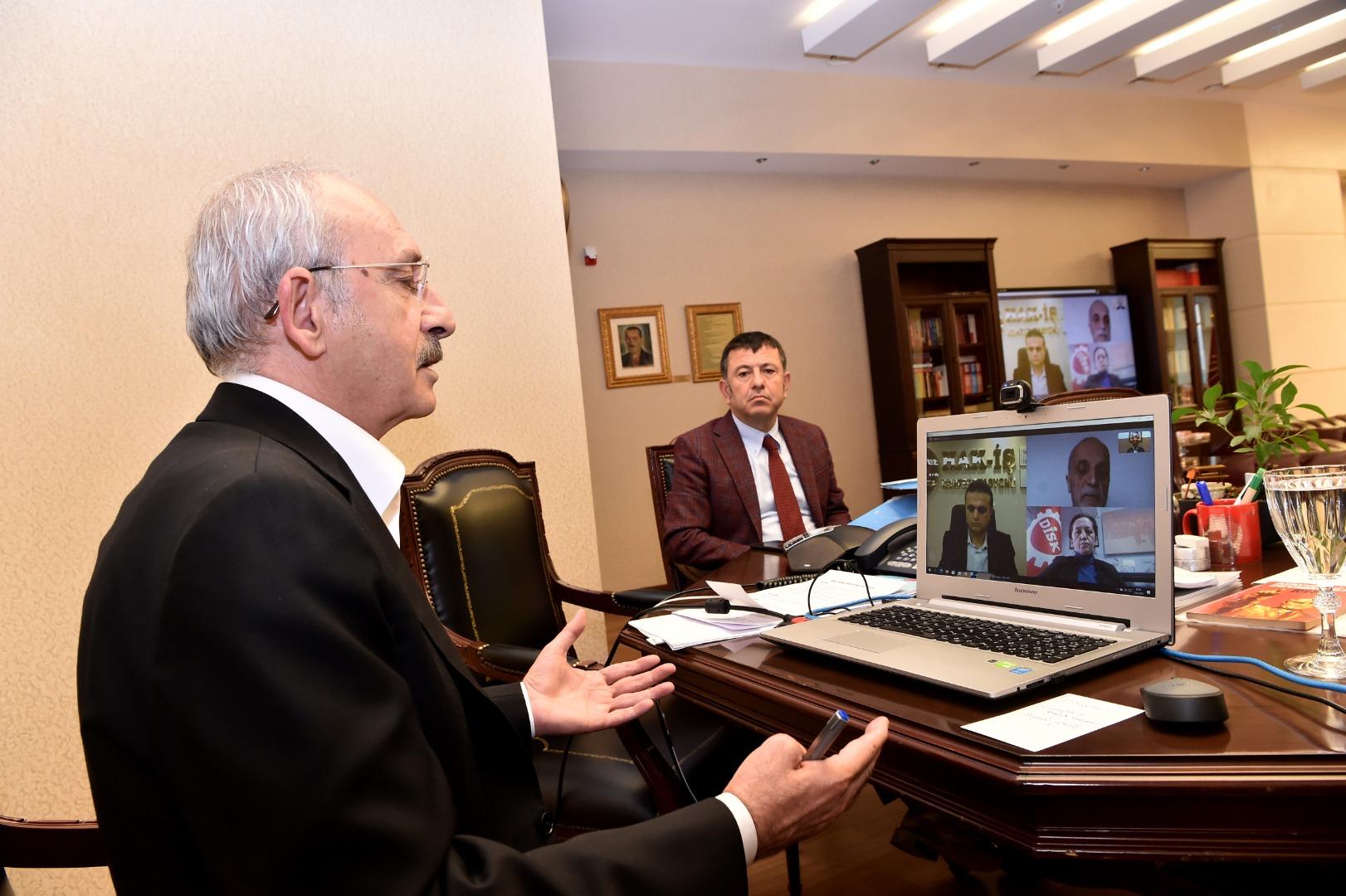 Kılıçdaroğlu:  İşsizlik Sigortası Fonu'nun harekete geçirilmesi lazım