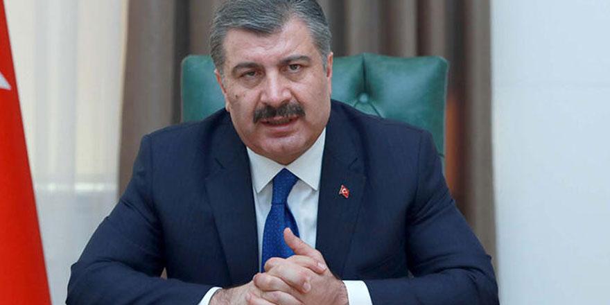 Bakan Koca 88 ülkenin Türkiye'den ekipman desteği talep ettiğini söyledi