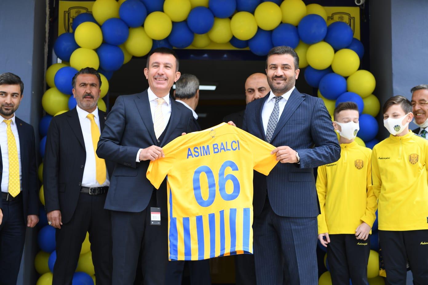 MKEAnkaragücü'nün Tandoğan Tesisleri yenilendi
