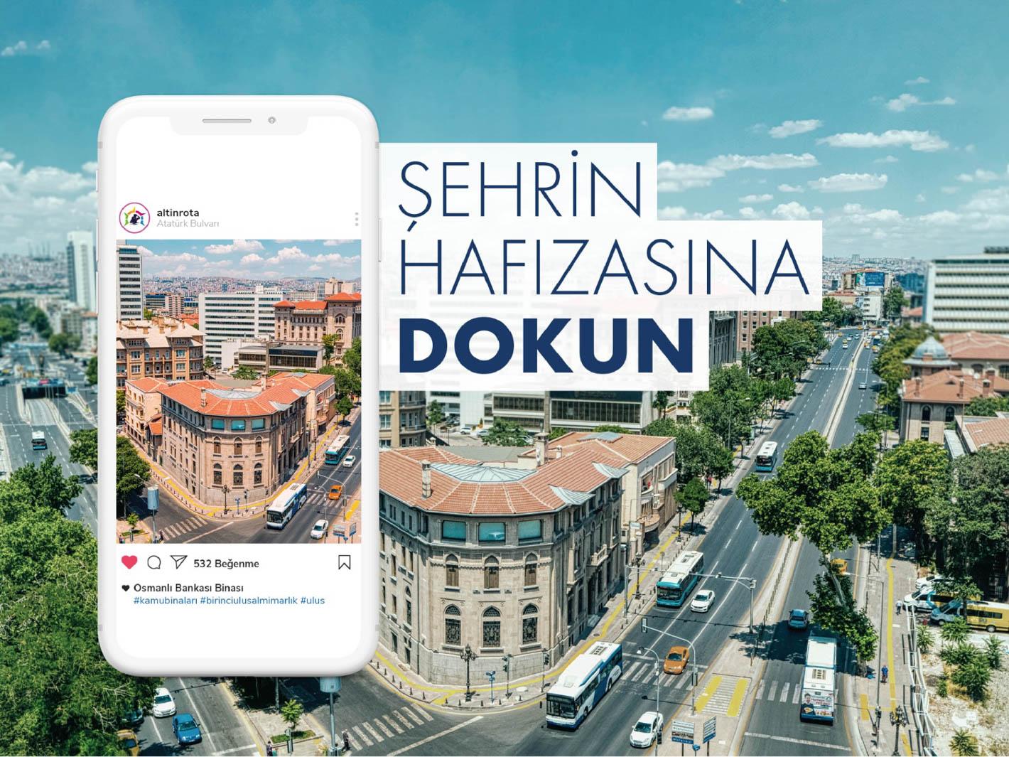 Başkent'in ilk dijital turizm rehberi