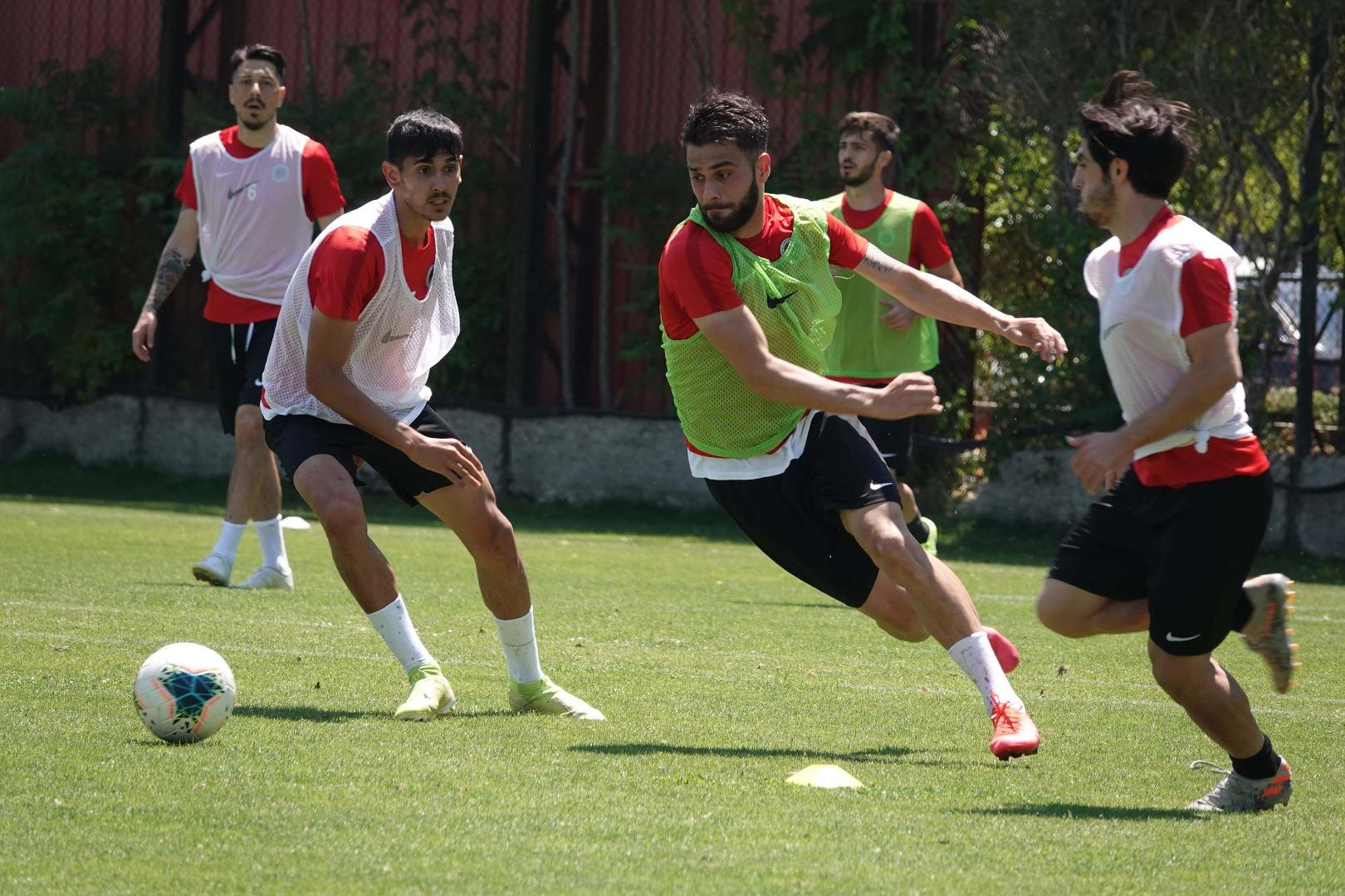 Gençlerbirliği, Fenerbahçe maçının hazırlıklarına başladı