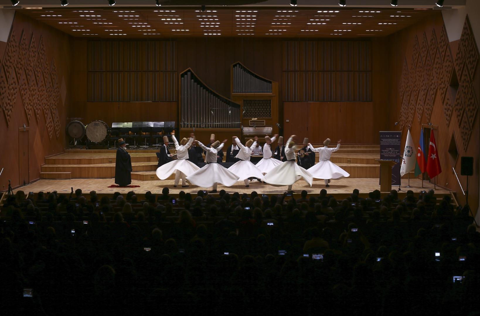 Ankara'da sema gösterisi ve muğam konseri