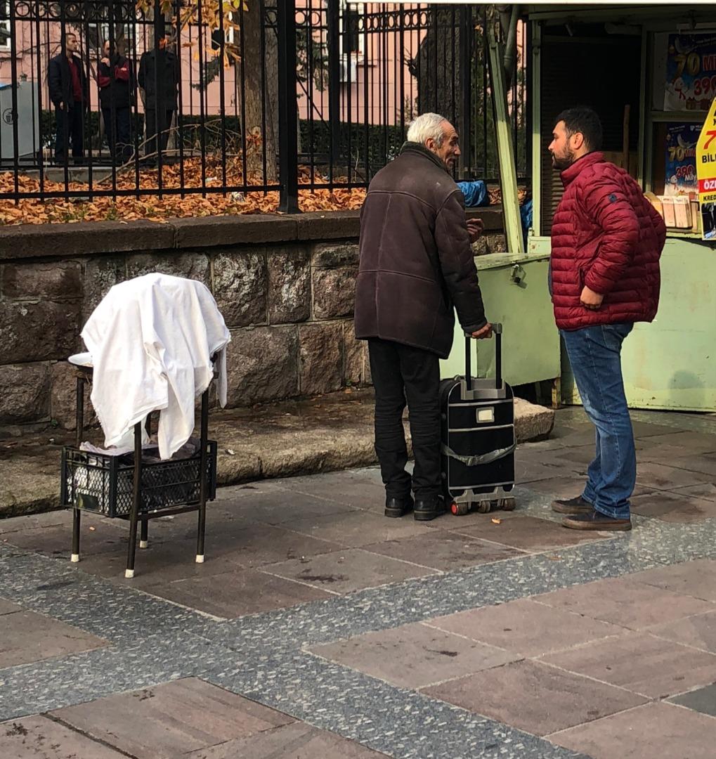 Yargıtay önünde şüpheli valiz alarmı