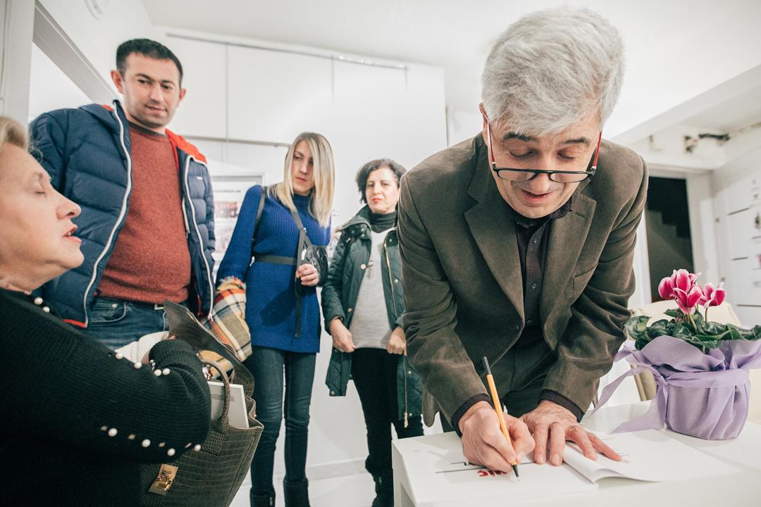 Karikatür Atölyesi Mustafa Saryal'ı ağırladı