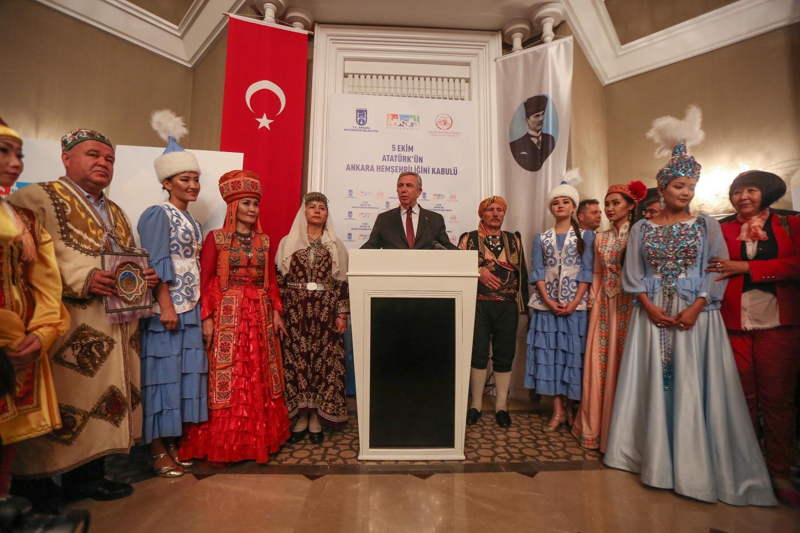 97'nci yılında Atatürk için buluşma