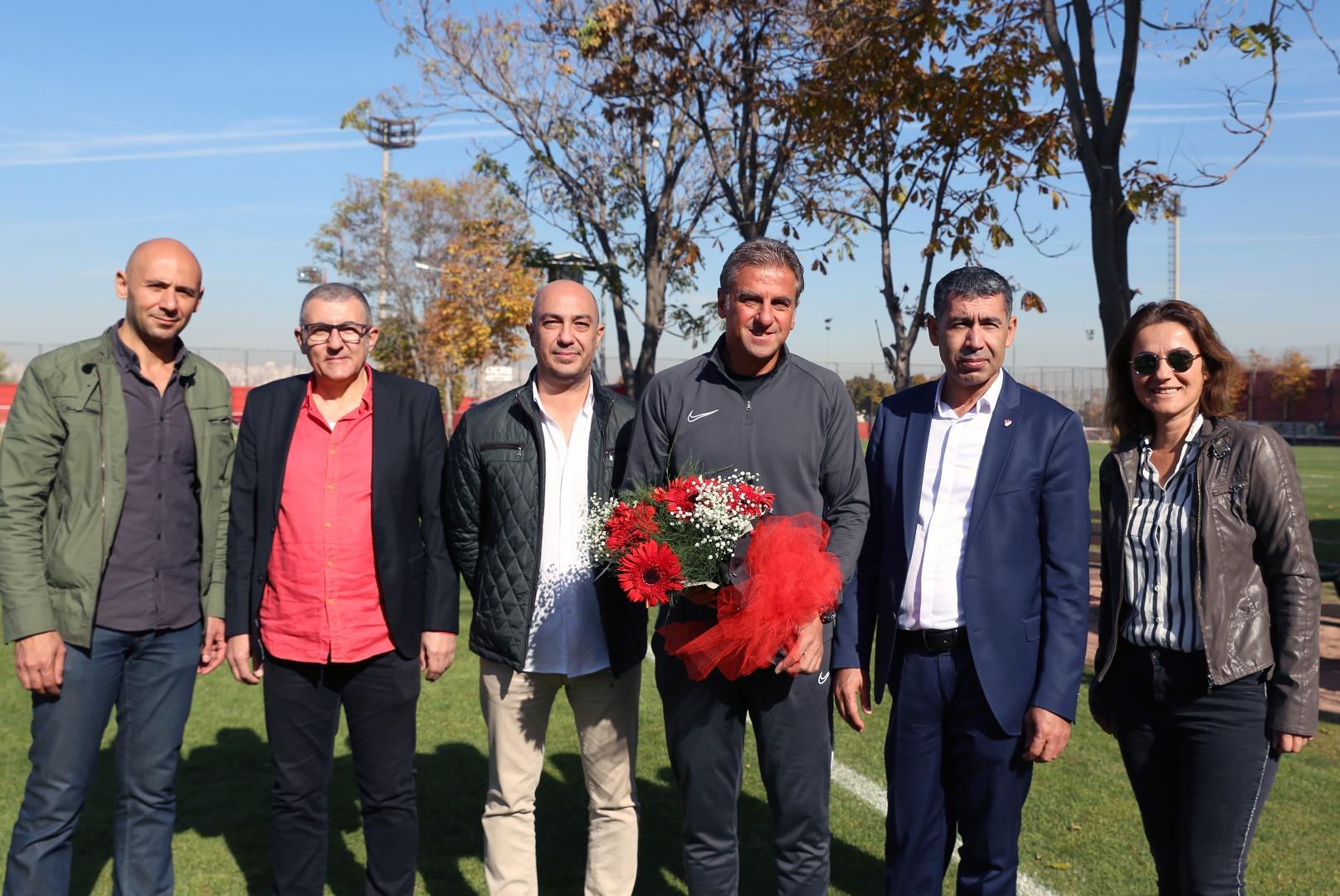 TSYD'den Gençlerbirliği ve MKE Ankaragücü kulüplerine ziyaret