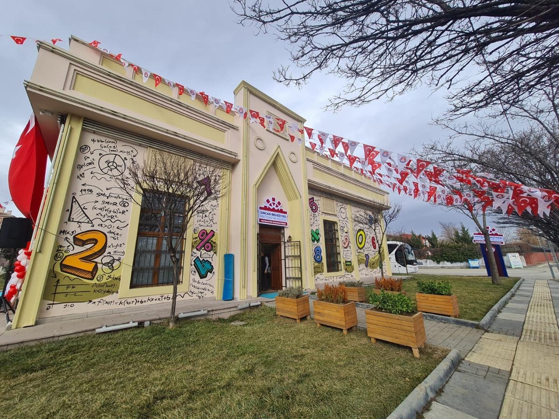 Sincan'daki Matematik Müzesi hizmete açıldı