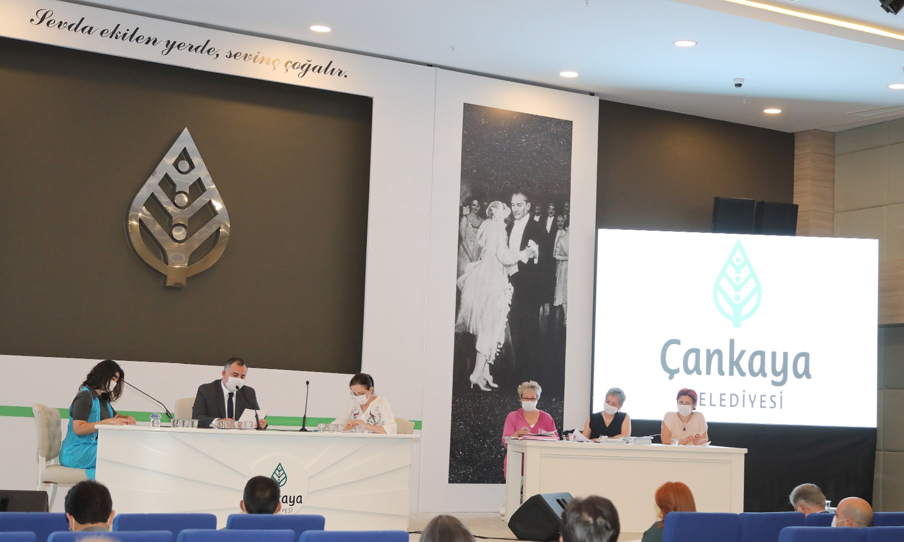Çankaya belediyesi faaliyet raporu onaylandı