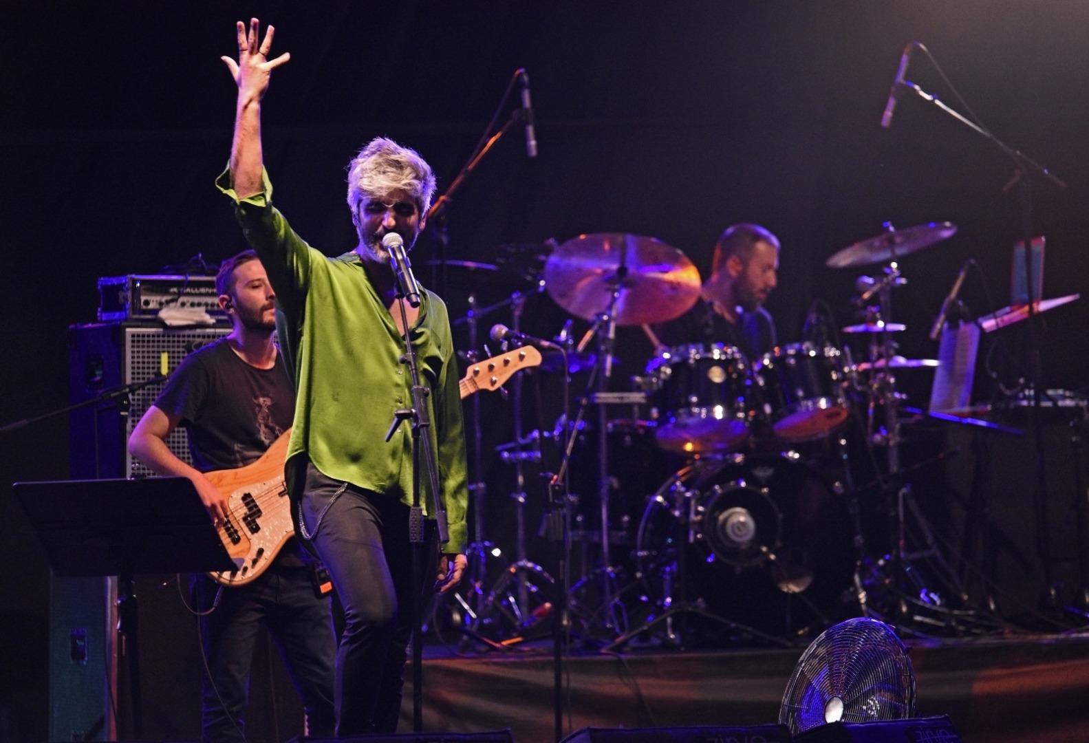 Manuş Baba Ankara'da konser verdi