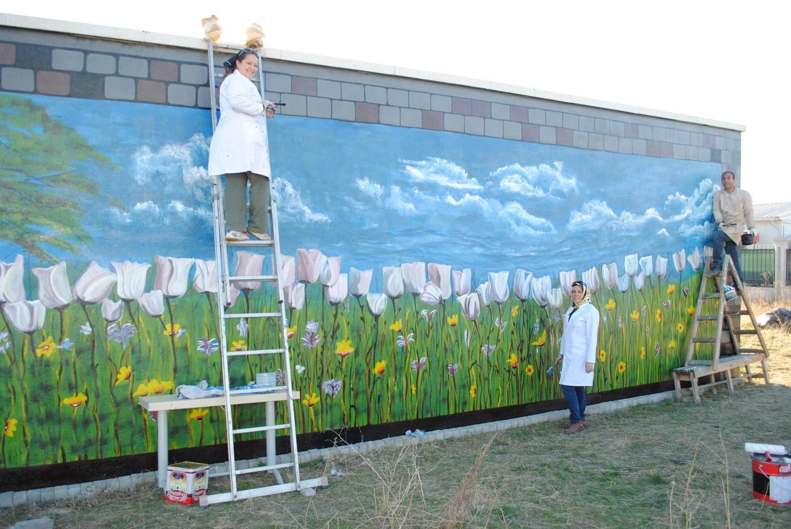 Ankara'da bin metrekare alan boyanacak