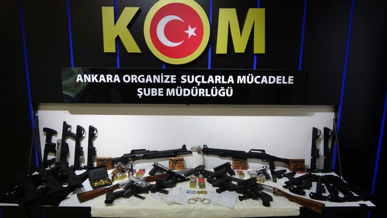 Ankara merkezli suç örgütü operasyonunda 30 şüpheli gözaltına alındı