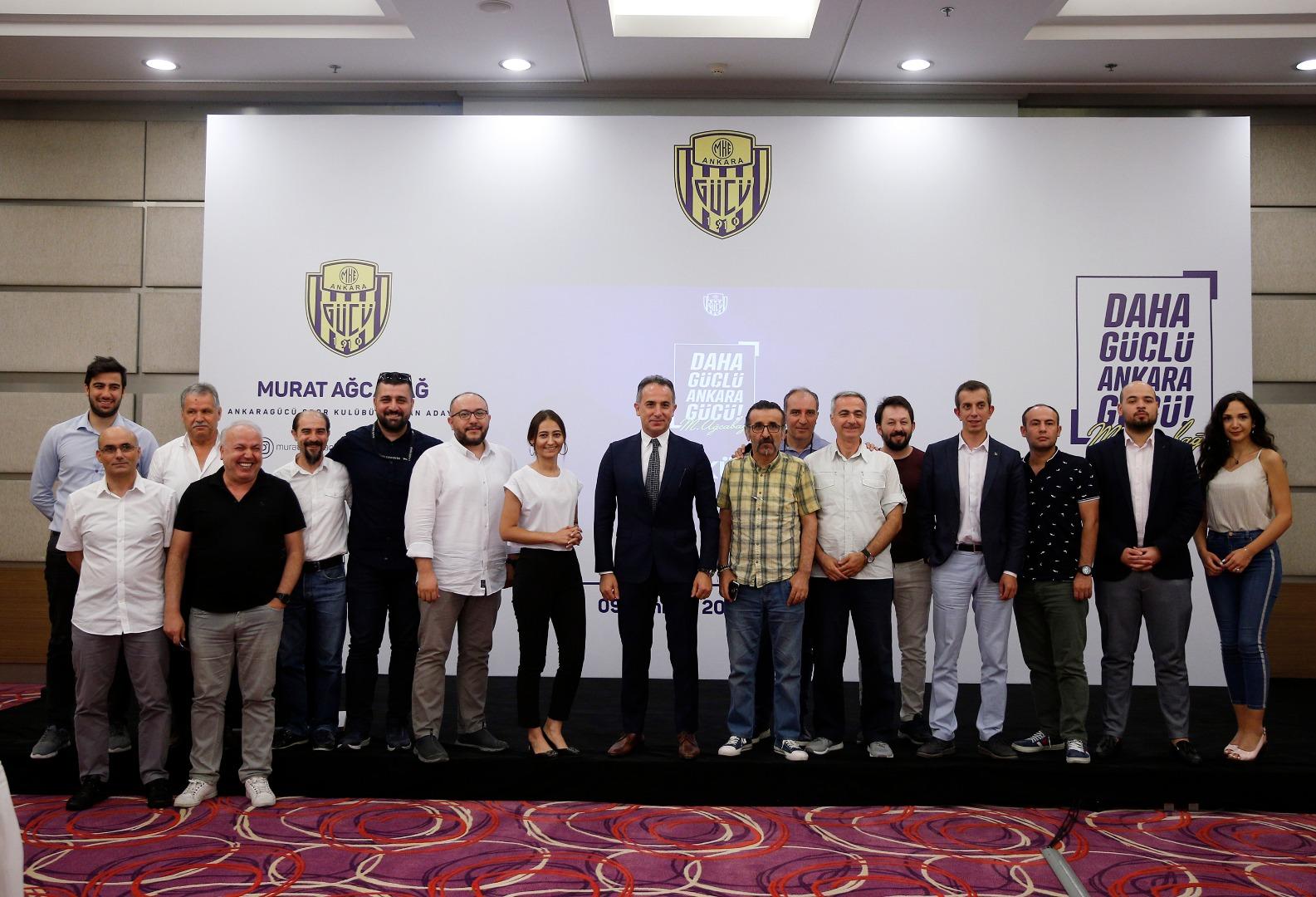 MKEAnkaragücü'nde Murat Ağcabağ başkanlığa aday oldu