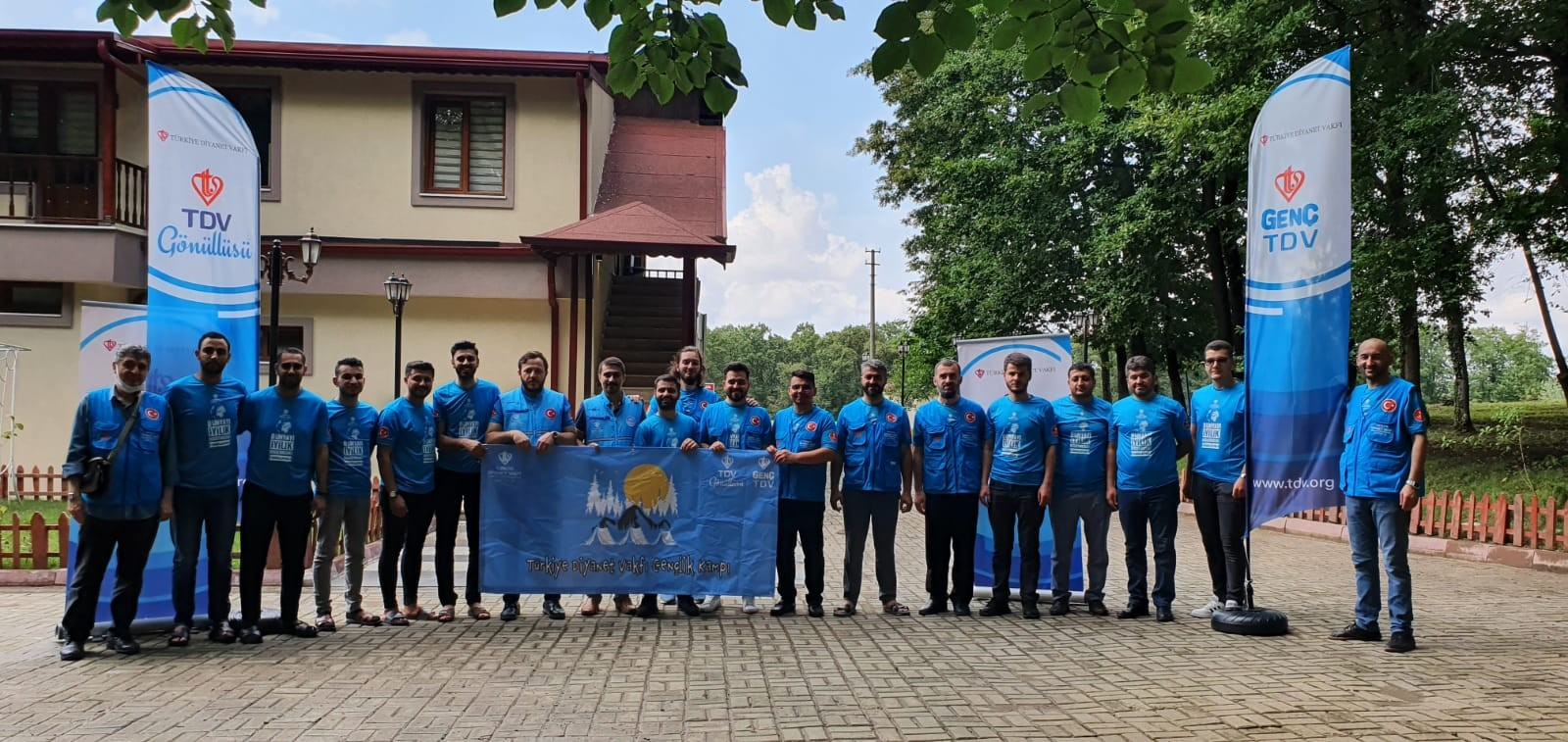TDV Gençlik ve Gönüllülük Kampı başladı