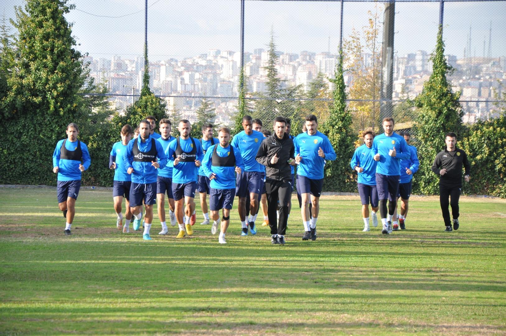 Ankaragücü'nde hazırlık başladı