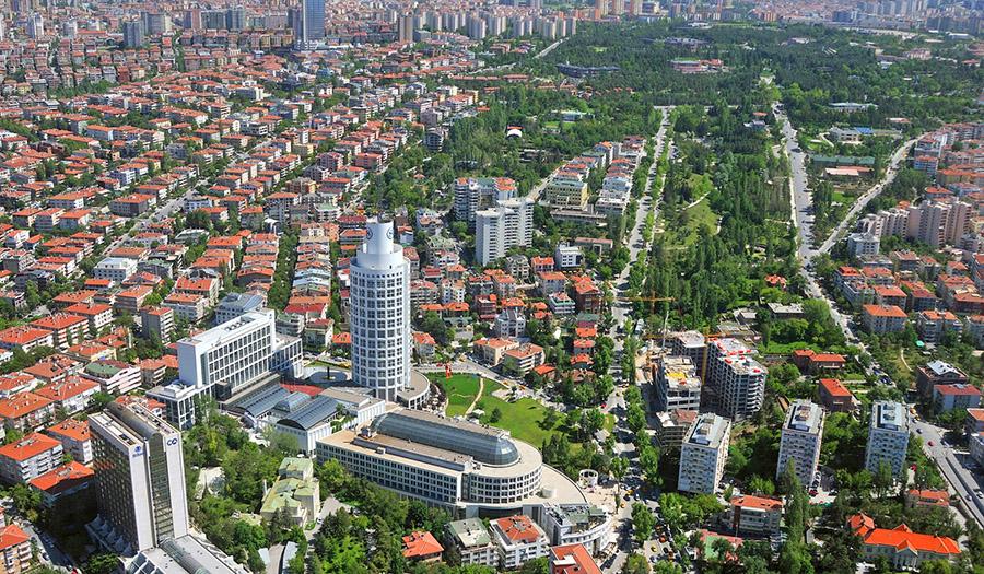 En kalabalık ilçe Çankaya, nüfus büyüklüğünde 57 ili solladı