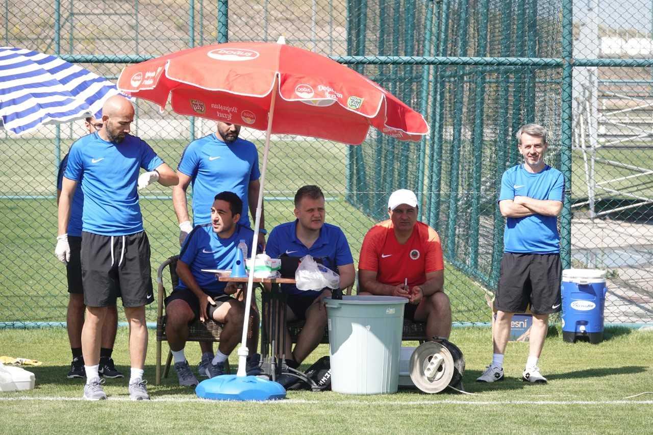 Gençlerbirliği'nde futbolcular laktat testinden geçti