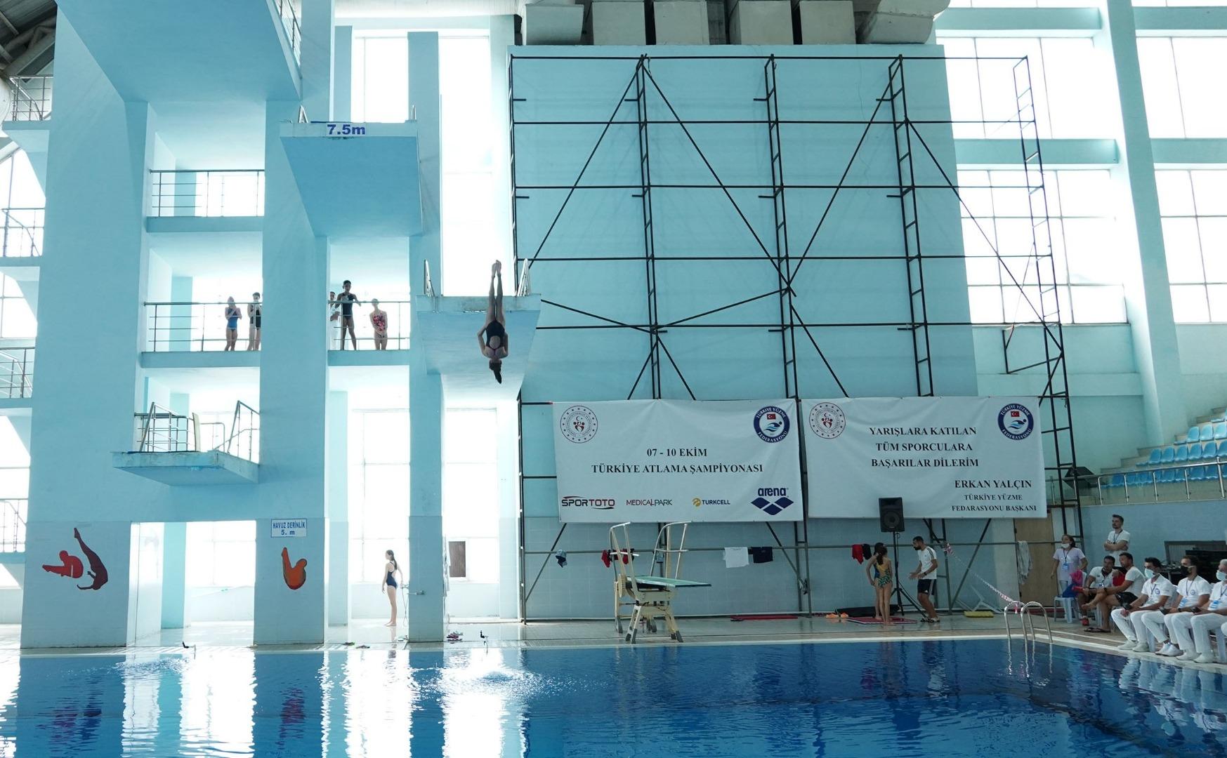 Türkiye Atlama Şampiyonası Keçiören'de yapıldı