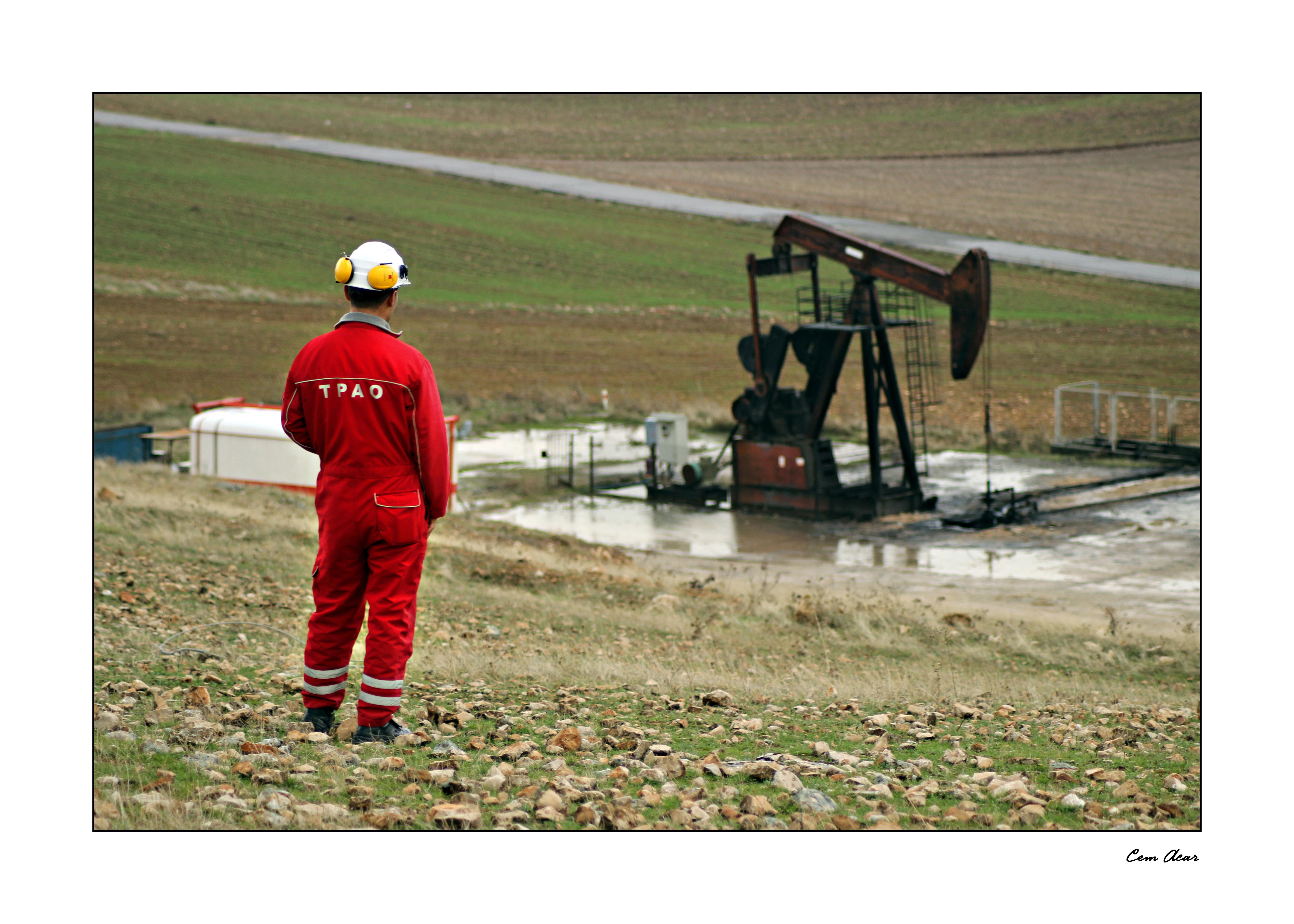 Petrolün fotografik öyküsü