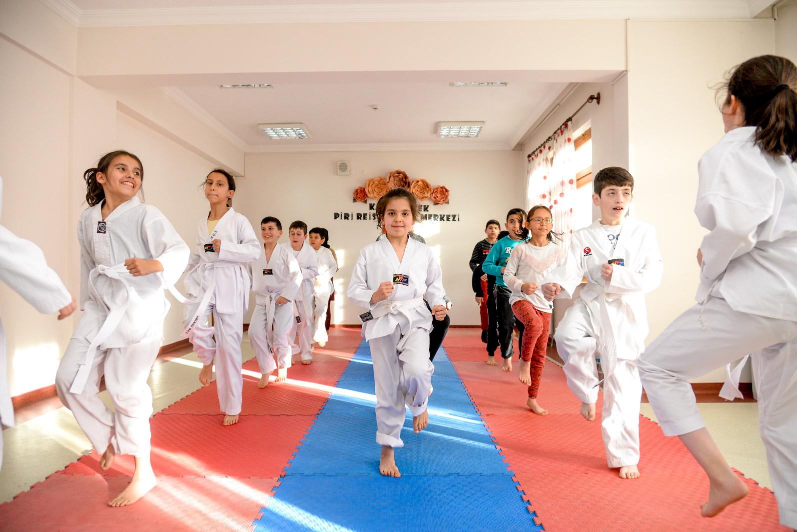 Altındağ'da tekvando dersleri başladı