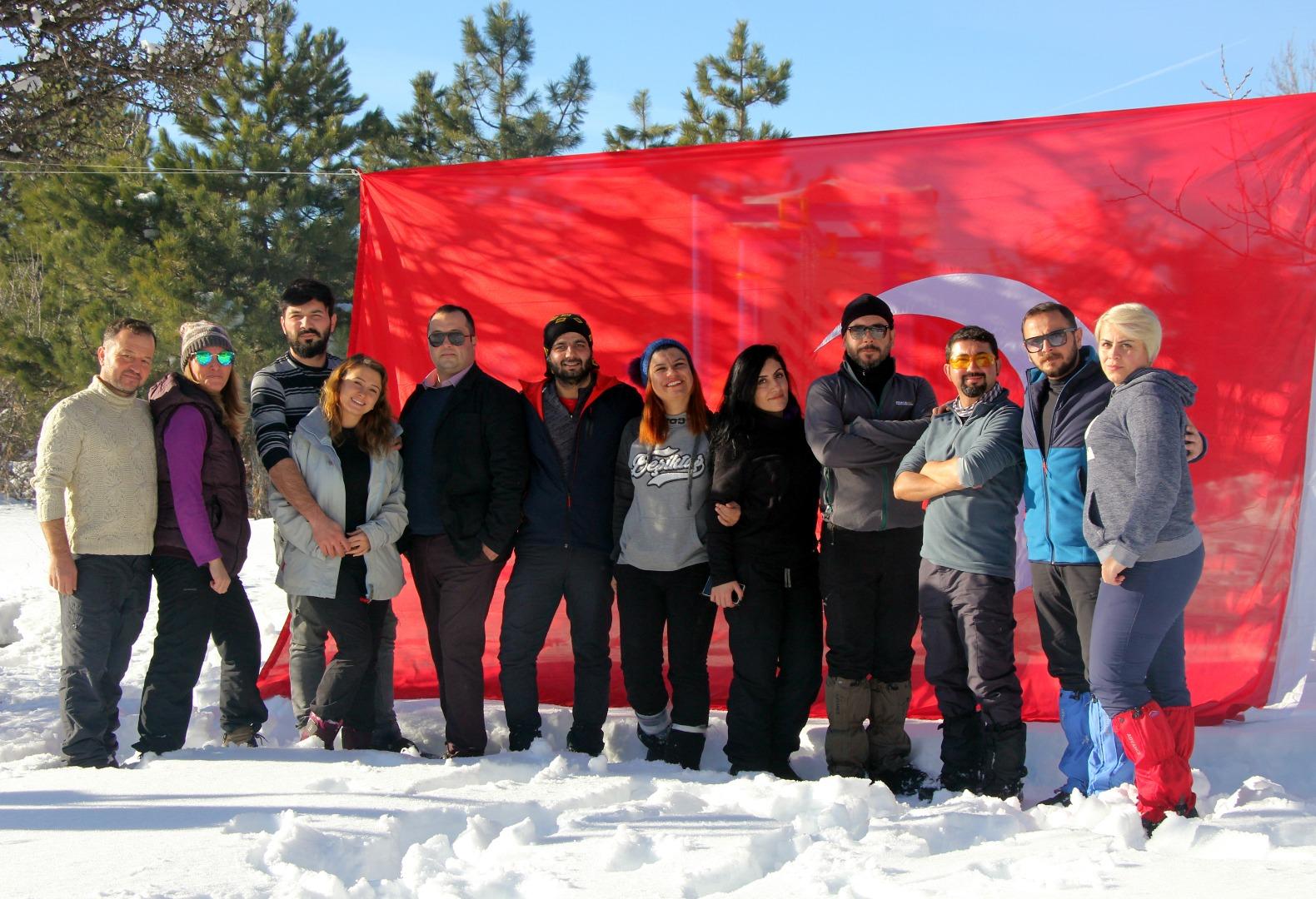 Ankara Kamp Ateşi Grubu, Karagöl'de kamp yaptı