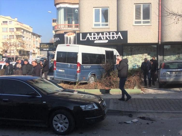 Ankara korkutan kaza: 7 yaralı