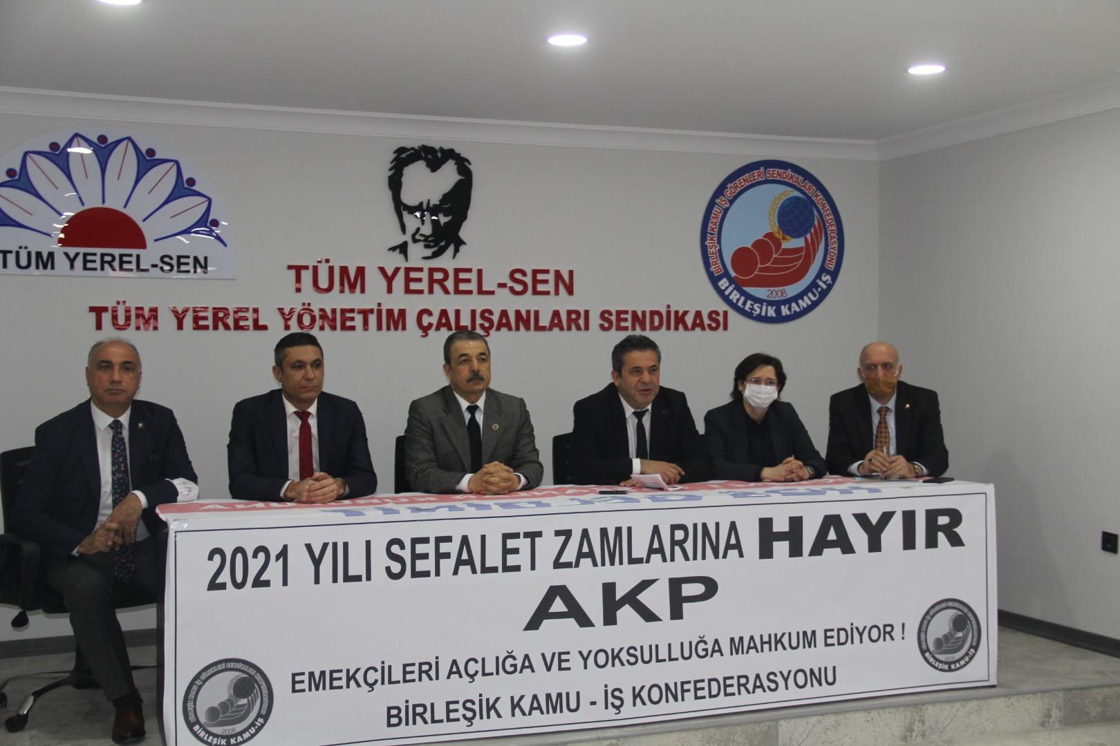 Mehmet Balık: Kamu emekçileri sokağa çıkacak