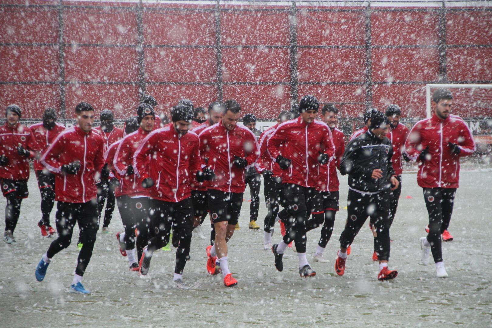 Gençlerbirliği, Fatih Karagümrük maçı hazırlıklarını sürdürdü