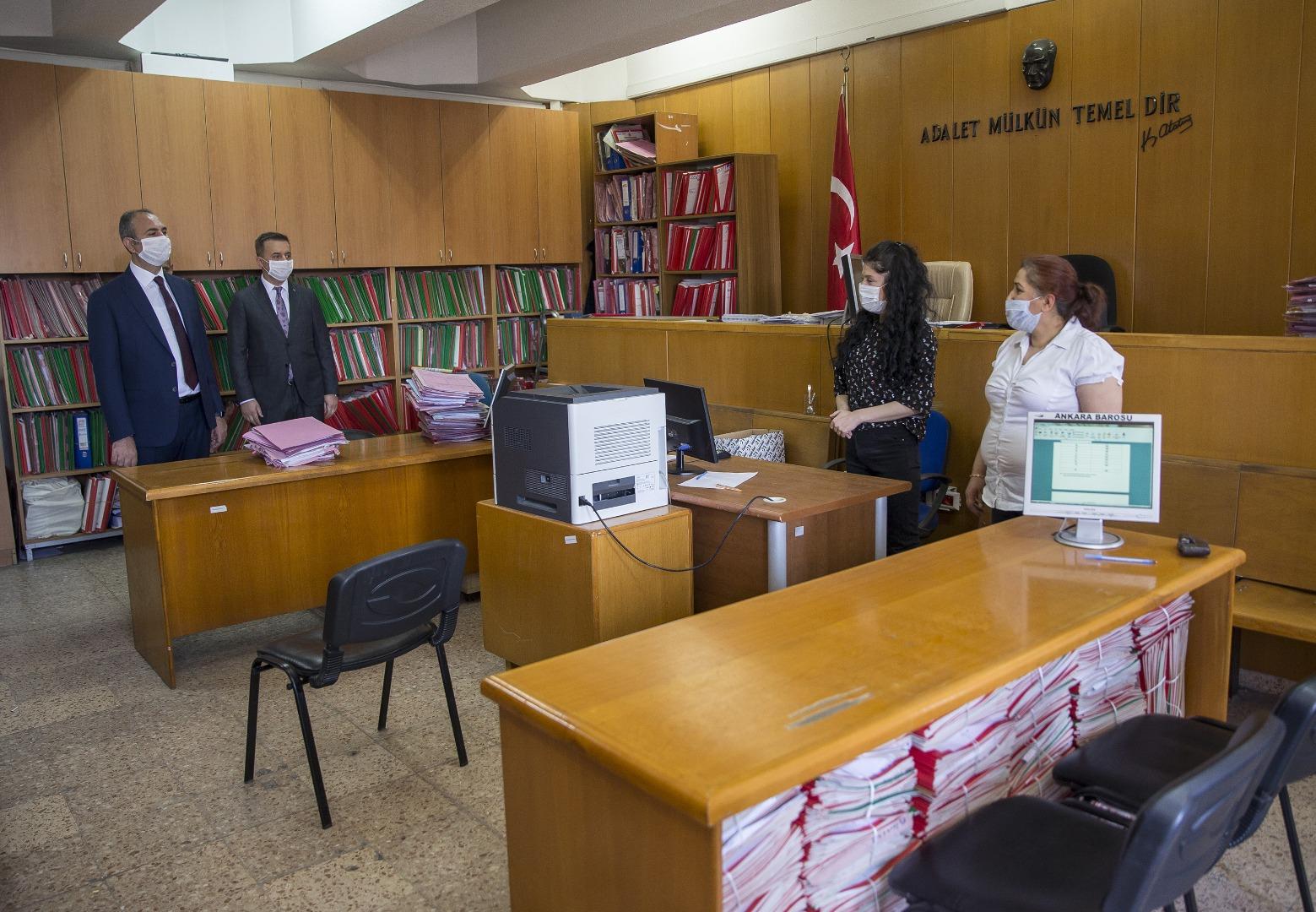 https www baskentgazete com tr genel adalet bakani gulankaraadliyesinde incelemede bulundu haber 28232