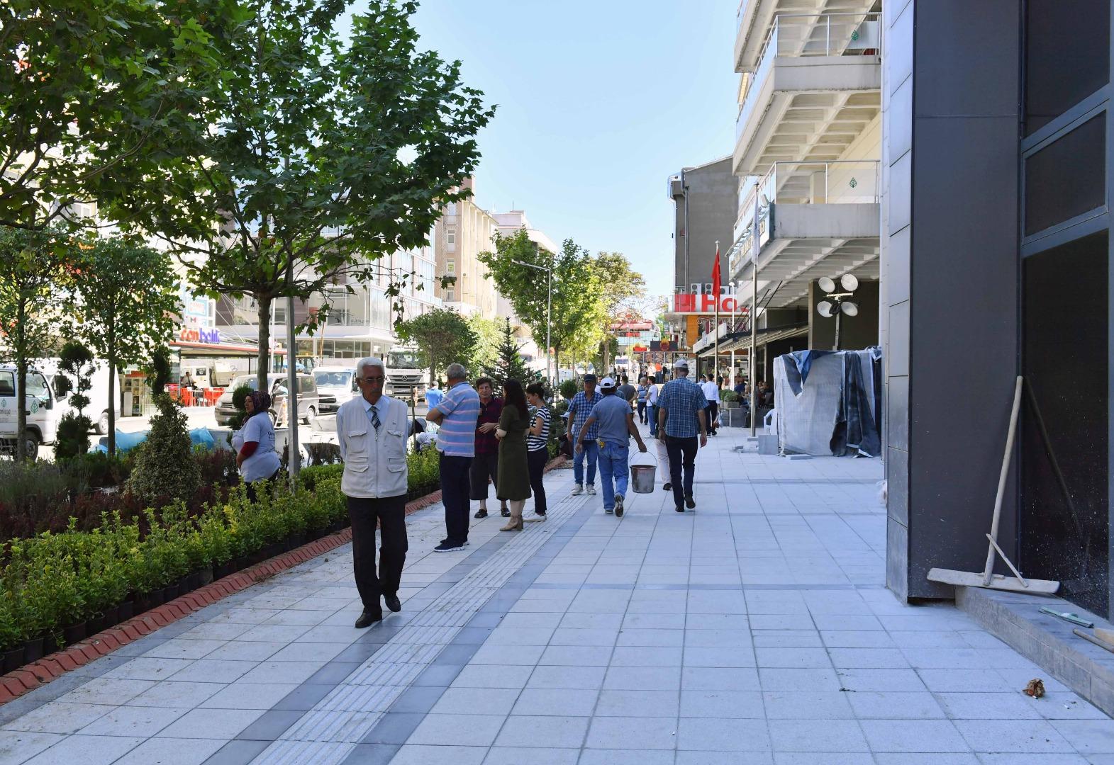 Sakarya Caddesi'nde adım adım değişim
