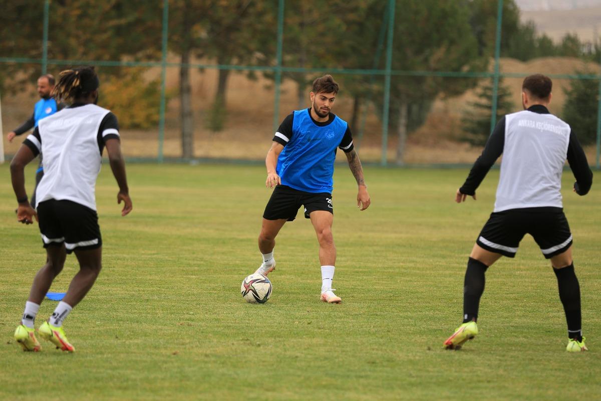 AnkaraKeçiörengücü'nde Kocaelispor maçı hazırlıkları