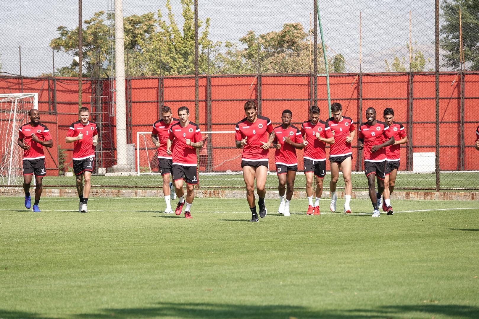 Gençlerbirliği, Konyaspor maçının hazırlıklarına başladı