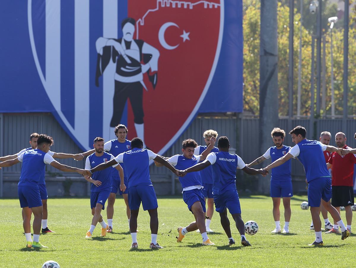 Ankaraspor, Giresunspor maçı hazırlıklarını tamamladı