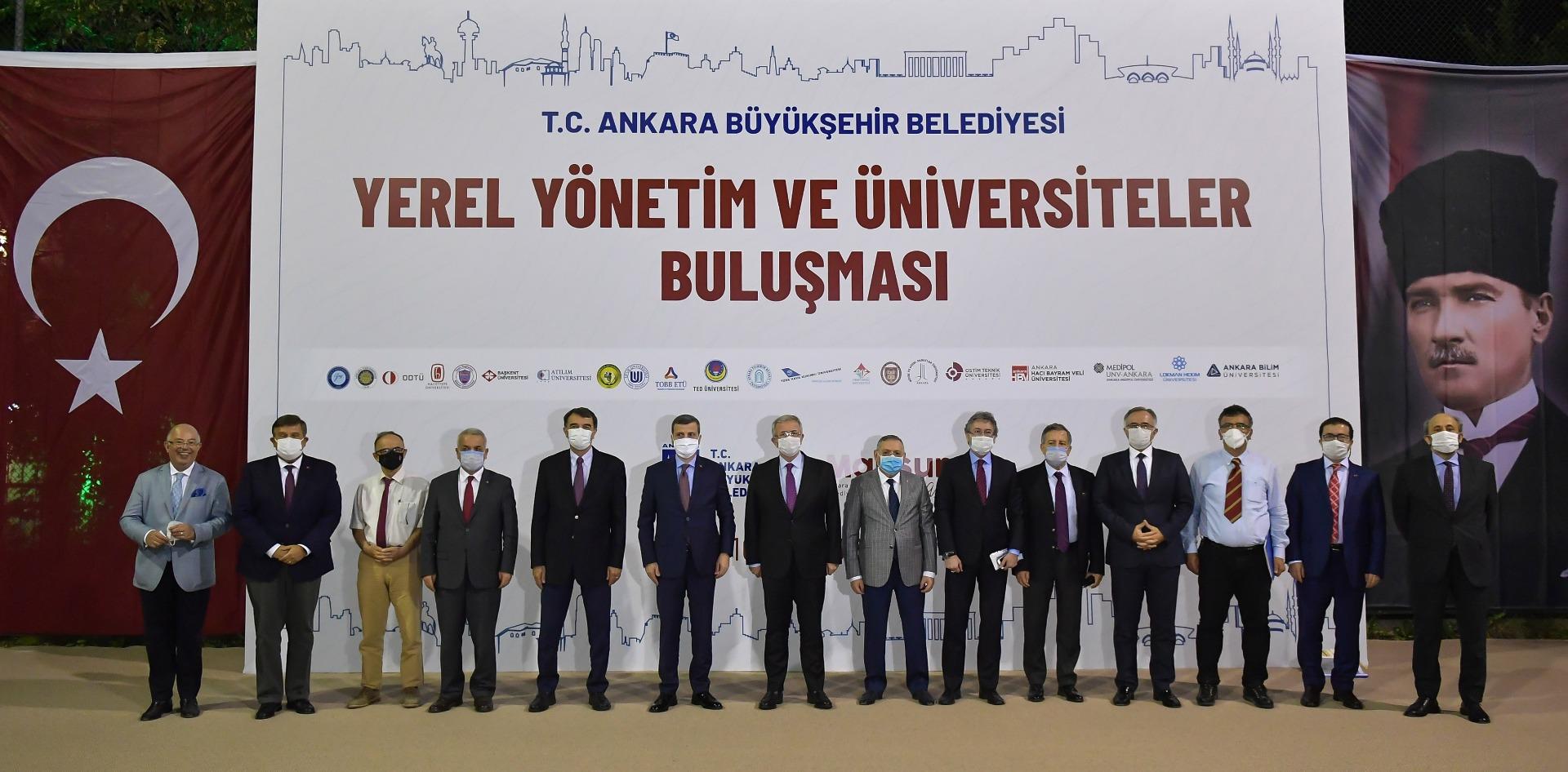 Başkan Yavaş Ankara'daki üniversitelerin rektörleriyle buluştu