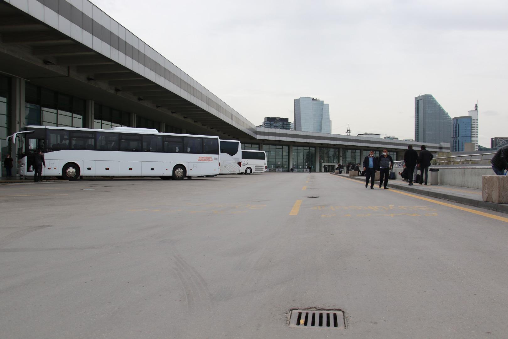 AŞTİ'de otobüs Gaziantep'e yalnızca 3 yolcu ile yola çıktı