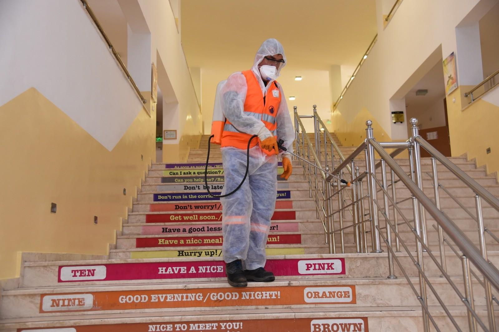 Altındağ'da okullar 21 Eylül'e hazır hale getirildi