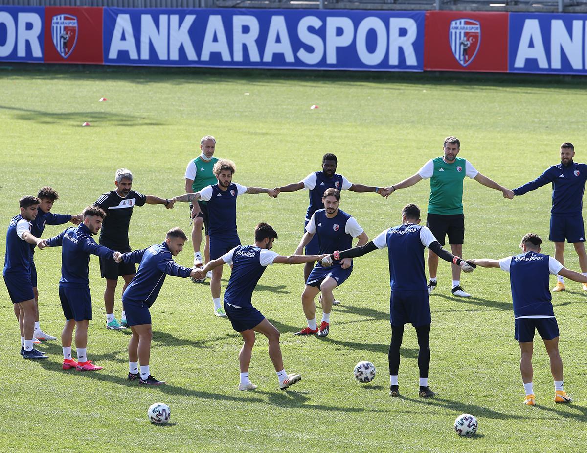 Ankaraspor, Tuzlaspor maçına hazır