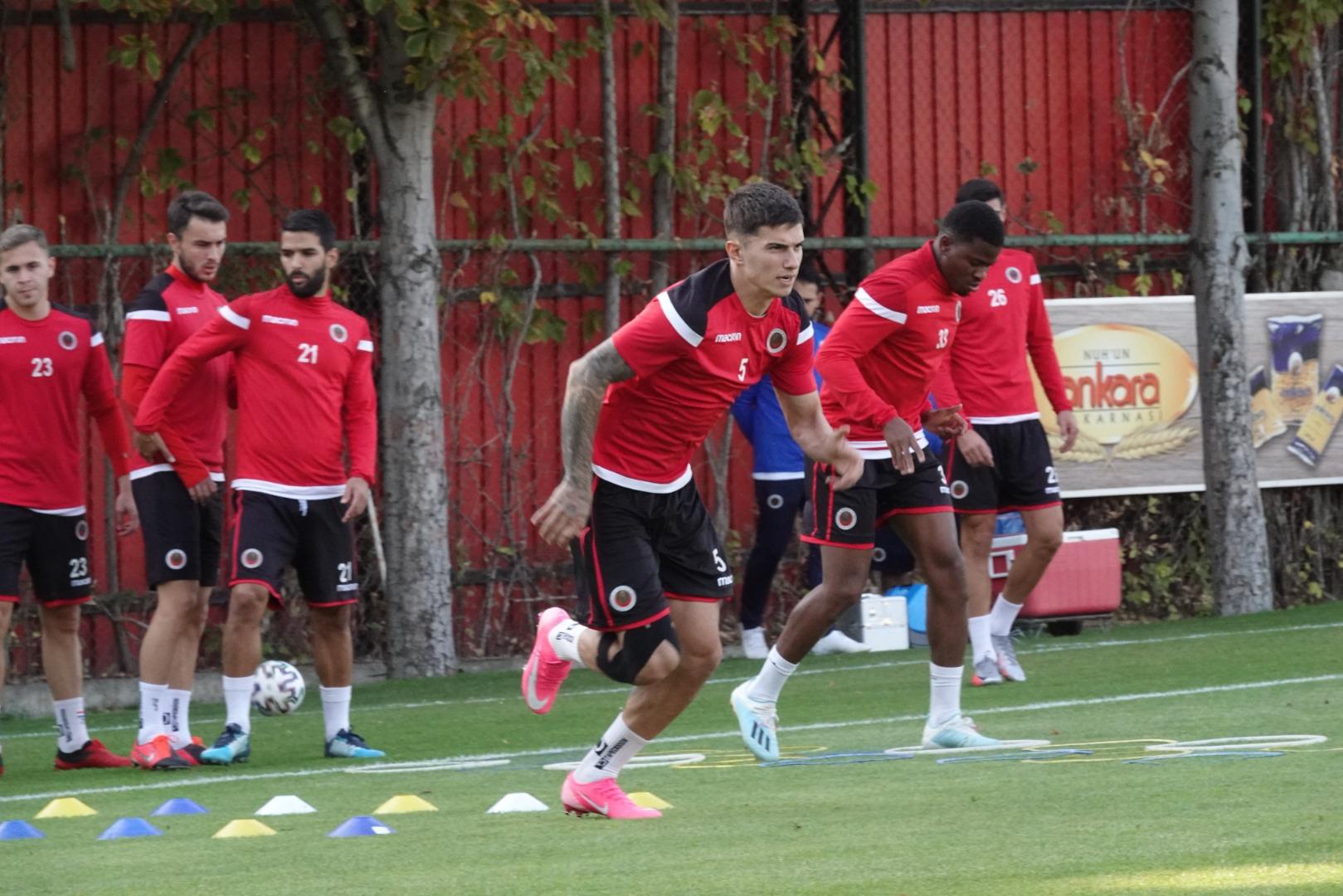 Gençlerbirliği'nde Yeni Malatyaspor maçı hazırlıkları