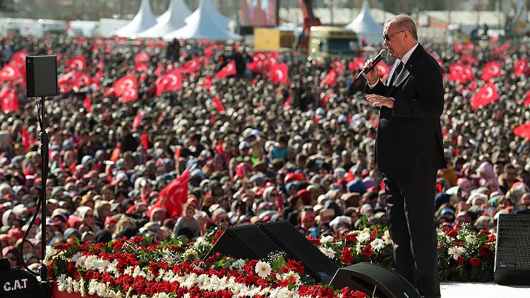 Cumhurbaşkanı Erdoğan İstanbul projelerini açıkladı