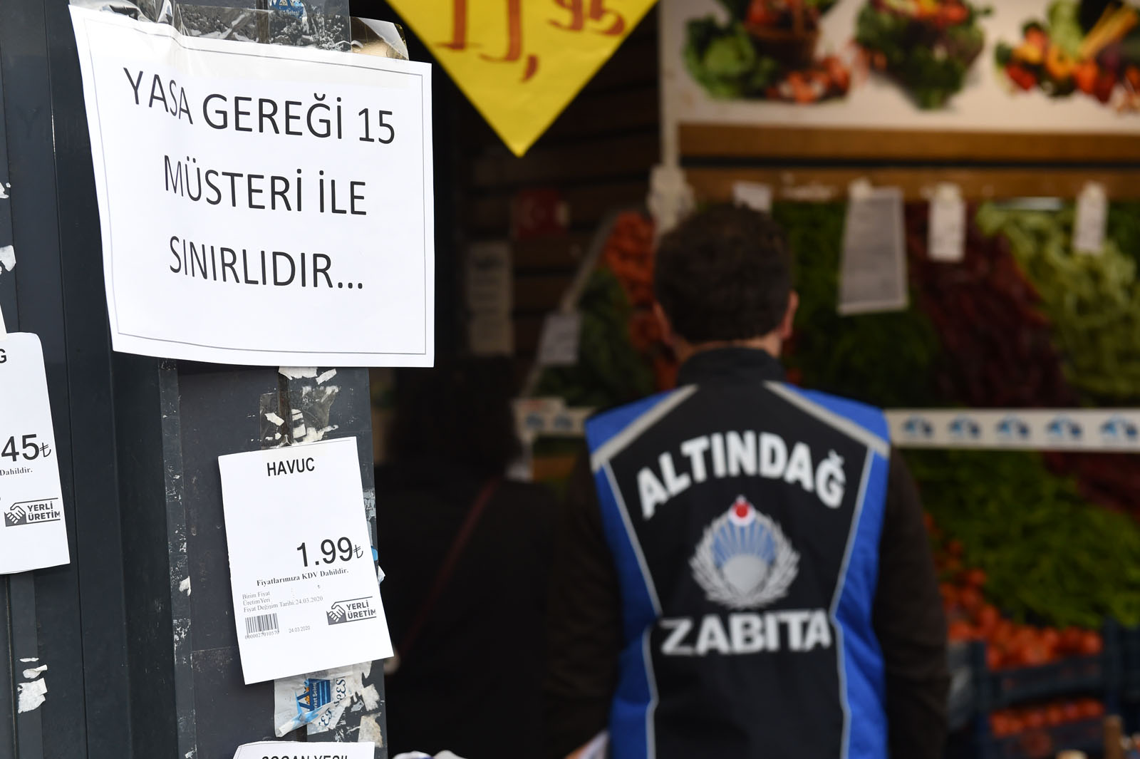 Altındağ'da marketler denetlendi