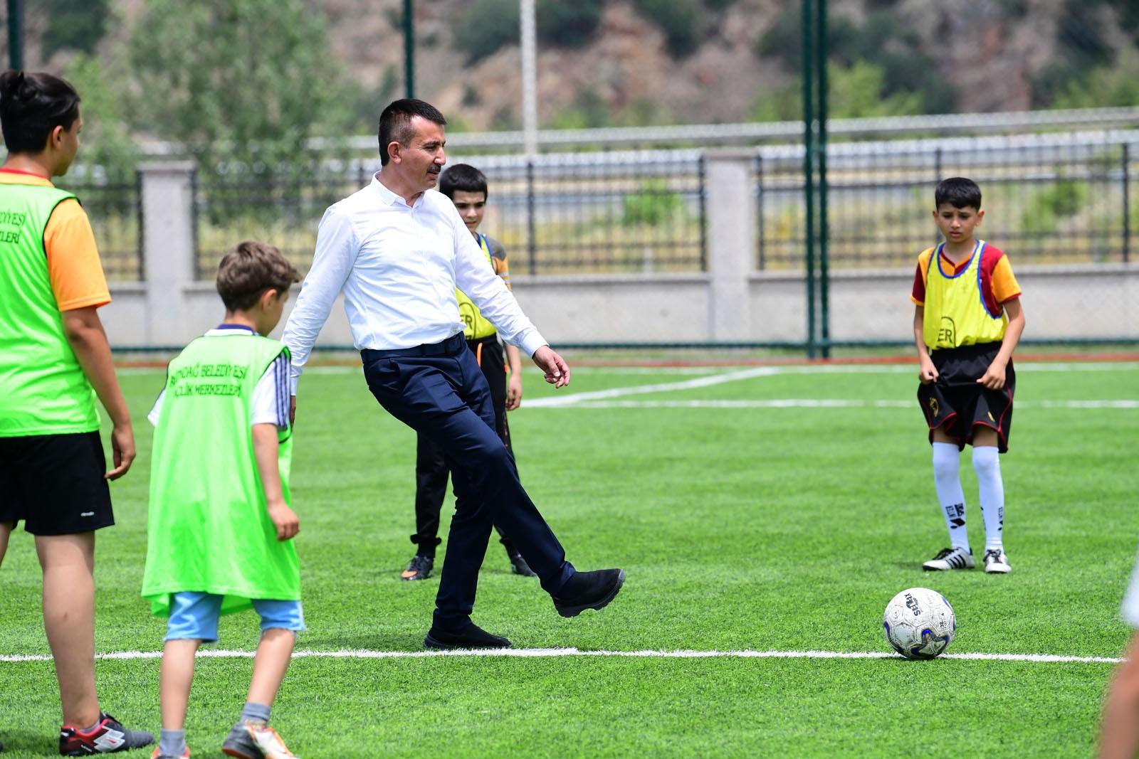 Altındağ'da spor dolu yaz tatili başladı