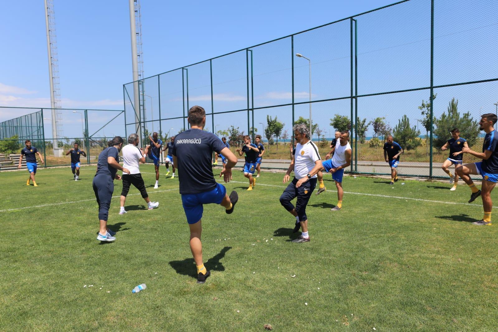 MKE Ankaragücü, Alanyaspor maçı hazırlıklarına başladı