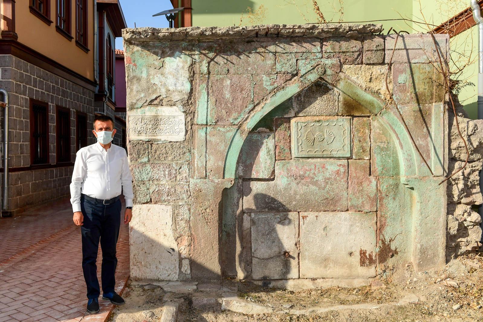 Altındağ'da tarihi çeşmeler restore edilecek