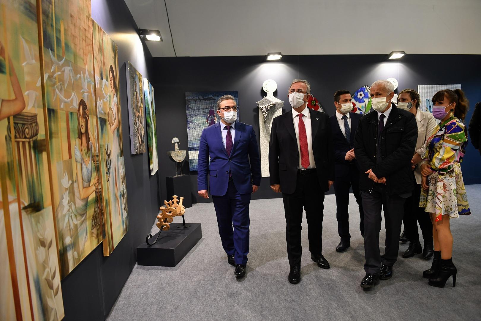Artankara Sanat Fuarı Başkentlilere kapılarını açtı