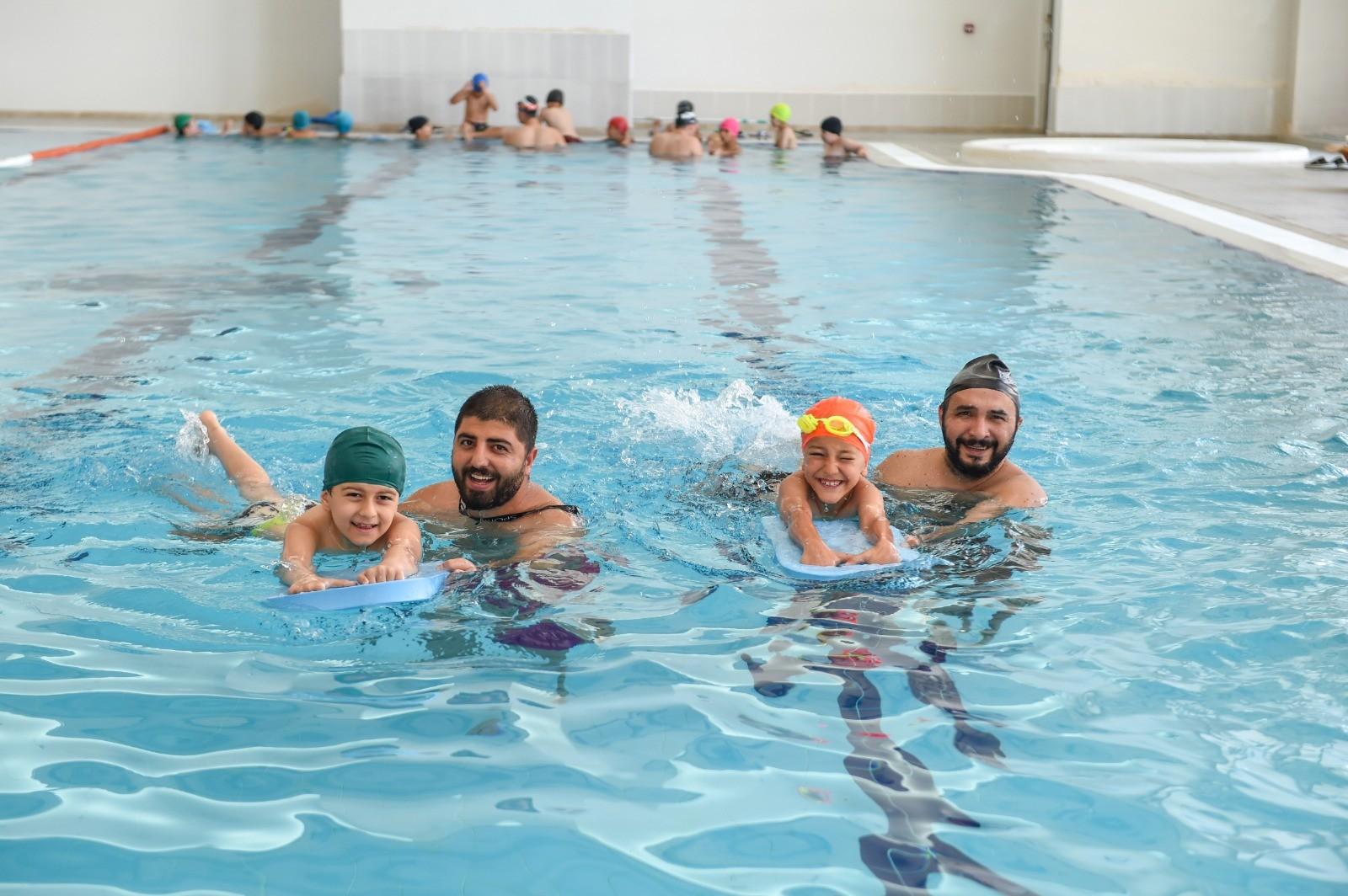 Altındağ'da 3 bin çocuğa ücretsiz yüzme kursu verilecek